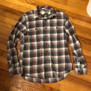 J crew super soft flannel shirt